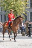 荷兰皇家卫兵 免版税库存照片