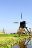 荷兰碾碎木的风 库存图片