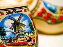 荷兰穿上鞋子木 免版税图库摄影
