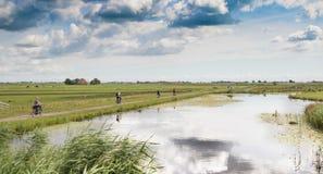 荷兰自行车 免版税库存图片
