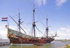 荷兰船voc 免版税库存照片
