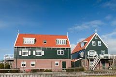 荷兰语典型的村庄 图库摄影