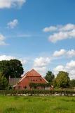 荷兰语农厂房子 图库摄影