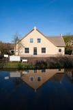荷兰语农厂房子 免版税图库摄影
