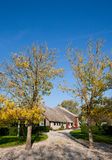 荷兰语农厂房子 免版税库存图片