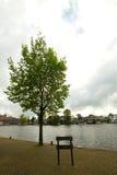 荷兰语农村风景 免版税库存图片