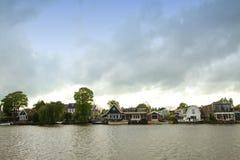 荷兰语农村风景 库存照片