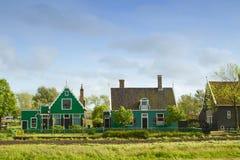 荷兰语农村风景 免版税图库摄影