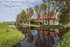 荷兰语农舍 免版税图库摄影