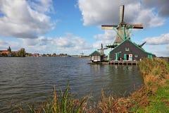 荷兰语博物馆村庄 免版税图库摄影
