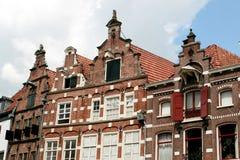 荷兰语历史房子 免版税图库摄影