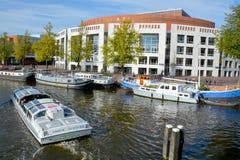 荷兰语国家歌剧院&芭蕾 免版税库存照片