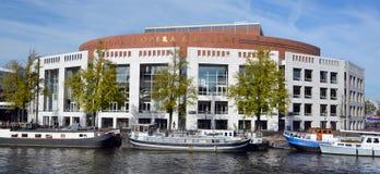 荷兰语国家歌剧院&芭蕾 免版税图库摄影