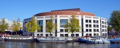 荷兰语国家歌剧院&芭蕾 图库摄影