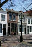 荷兰语场面街道 免版税库存照片