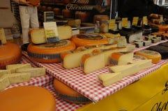 荷兰语奇斯曼和SAMAI食物立场 免版税库存照片
