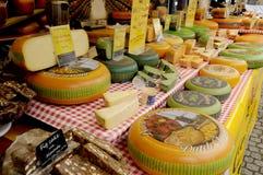荷兰语奇斯曼和SAMAI食物立场 库存图片