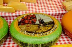 荷兰语奇斯曼和SAMAI食物立场 库存照片