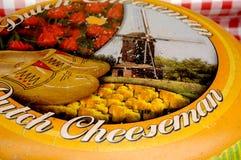 荷兰语奇斯曼和SAMAI食物立场 免版税库存图片