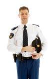 荷兰语官员警察 免版税库存图片