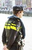 荷兰语官员警察 库存图片