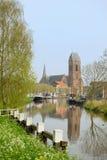 荷兰语小的村庄 免版税库存照片