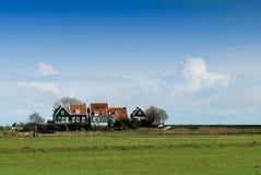 荷兰语小的村庄 库存照片