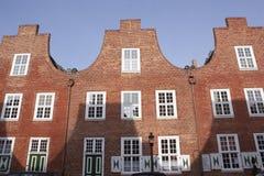 荷兰语德国波茨坦季度 免版税库存照片