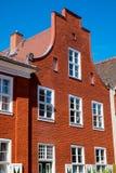 荷兰语房子季度 库存图片