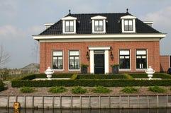 荷兰语房子 免版税库存图片