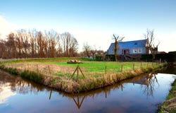 荷兰语村庄 库存图片