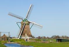 荷兰语横向风车 库存图片
