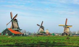 荷兰语横向 免版税图库摄影