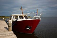荷兰语汽艇 免版税库存图片