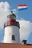 荷兰语灯塔 免版税图库摄影