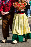 荷兰语的舞蹈演员 库存照片