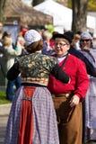 荷兰语的舞蹈演员 库存图片
