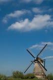 荷兰语磨房 免版税库存照片