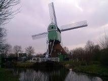 荷兰语磨房 库存照片