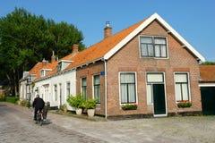荷兰语美丽如画的村庄 库存照片