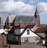 荷兰语老村庄 免版税图库摄影