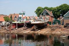 荷兰语老造船厂 免版税库存图片