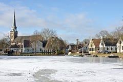 荷兰语荷兰传统村庄 免版税库存图片