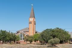 荷兰语被改革的教会在Springfontein 库存照片