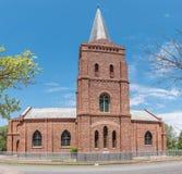荷兰语被改革的教会在Steynsburg 免版税库存图片