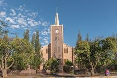 荷兰语被改革的教会在Trompsburg 库存照片