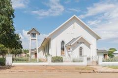 荷兰语被改革的教会在Venterstad 免版税库存照片