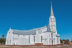 荷兰语被改革的教会阿伯丁,南非 库存照片