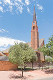 荷兰语被改革的教会Hospitaalpark 库存图片