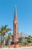 荷兰语被改革的教会Humansdorp 库存图片